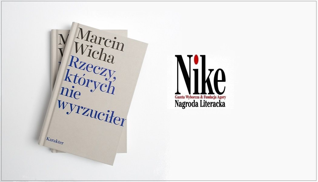 Marcin Wicha laureatem Nike 2018!
