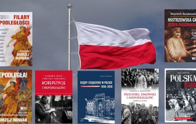 Książki na stulecie odzyskania niepodległości