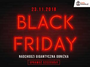 Już dziś Black Friday - złap tanie książki w TaniaKsiazka.pl
