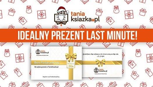 Bony podarunkowe TaniaKsiazka.pl - idealny prezent last minute