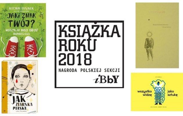 Książka Roku 2018 Polskiej Sekcji IBBY. Laureaci