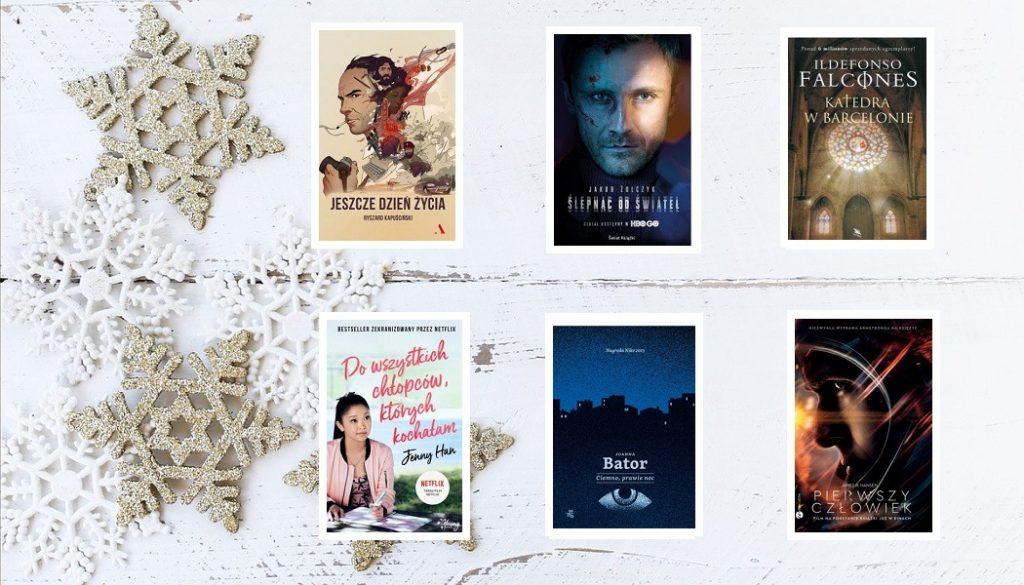 Zekranizowane książki idealne na świąteczny prezent. Sprawdź w TaniaKsiazka.pl