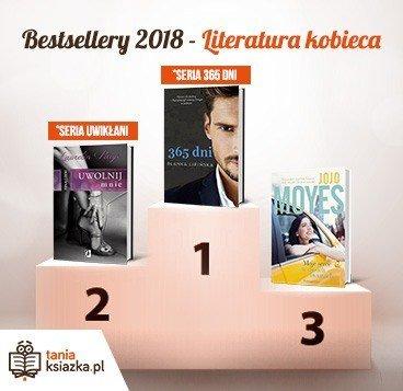 Po jakie książki sięgały czytelniczki w 2018 roku? Bestsellery 2018 TaniaKsiazka.pl