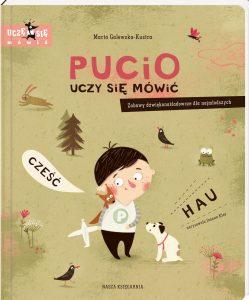 Najczęściej kupowane w 2018 roku książki dla dzieci. Pucio uczy się mówić - kup na TaniaKsiazka.pl