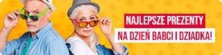Sprawdź prezenty na Dzień Babaci i Dziadka w TaniaKsiazka.pl