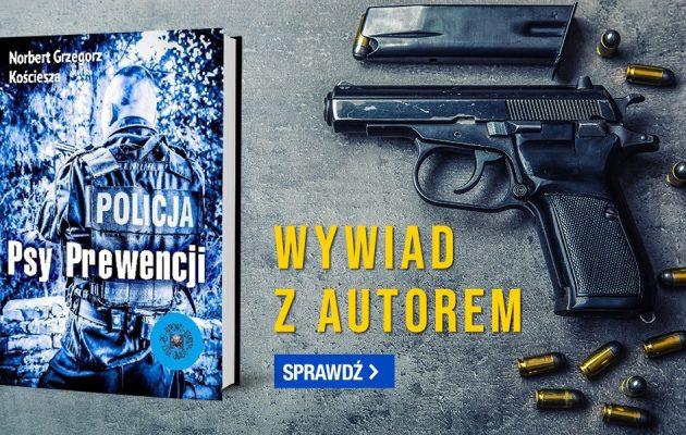 Wywiad z Norbertem Kościeszą, autorem książki Psy Prewencji