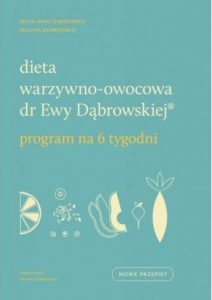 Dieta warzywno-owocowa dr Ewy Dąbrowskiej - kup na TaniaKsiazka.pl