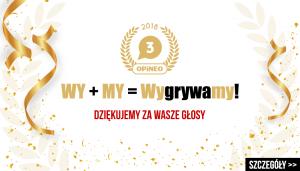 TaniaKsiazka.pl na 3. miejscu w Rankingu Sklepów Internetowych 2018 Opineo.pl.