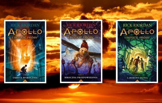 Nowa powieść Ricka Riordana już we wrześniu! Sprawdź serię Apollo i boskie próby w TaniaKsiążka.pl