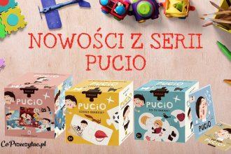 Seria Pucio - nowe książki i puzzle do nauki mówienia