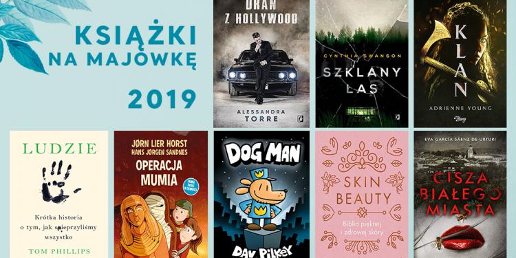 książki na majówkę 2019