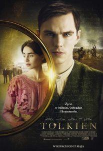 Plakat filmu Tolkien - kup książki autora wTaniaKsiazka.pl >>