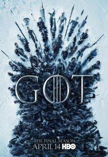 Plakat 8. sezony Gry o tron