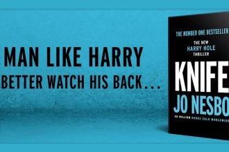 Nóż - nowa książka Jo Nesbø o Harrym Hole'u już w czerwcu!