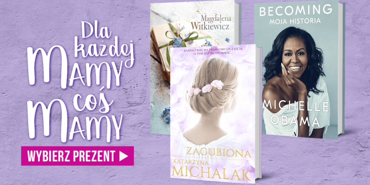 Książkowe prezenty na Dzień Matki!