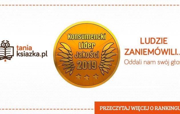 Konsumencki Lider Jakości 2019 - Księgarnia TaniaKsiazka.pl
