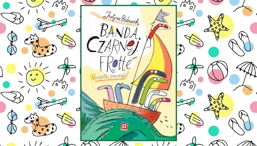 Banda Czarnej Frotté - recenzja książki. Nowa część serii w TaniaKsiazka.pl >>