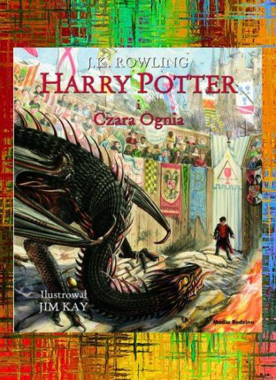 Ilustrowany Harry Potter i Czara Ognia - kup na TaniaKsiazka.pl