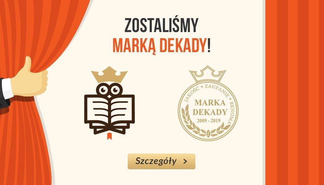 TaniaKsiazka.pl z tytułem Marka Dekady