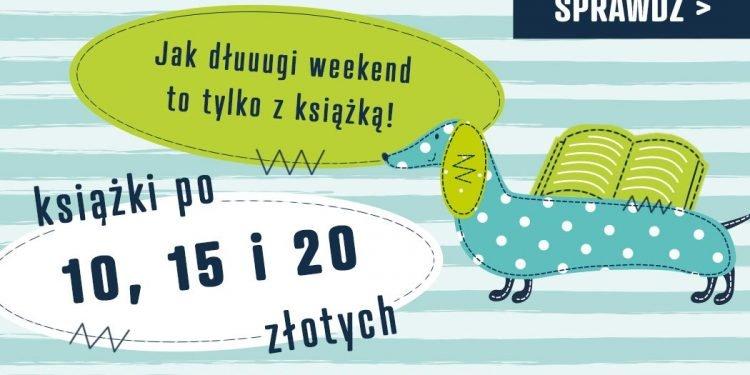 Książki po 10, 15 i 20 zł w TaniaKsiazka.pl