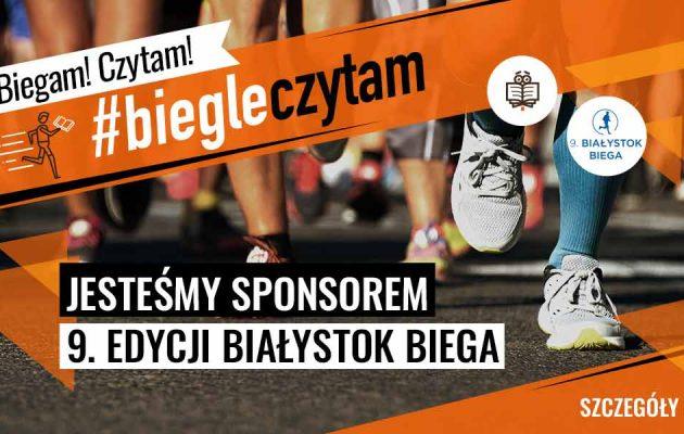 TaniaKsiazka.pl sponsorem 9. Białystok Biega