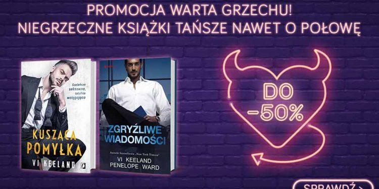 Tydzień z niegrzecznymi książkami - sprawdź w TaniaKsiazka.pl >>