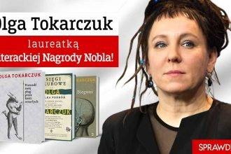 Literacki Nobel dla Olgi Tokarczuk