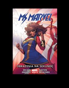 Lutowe zapowiedzi komiksowe – Ms Marvel do dostania na TaniaKsiazka.pl