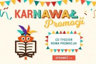 Karnawał promocji w TaniaKsiazka.pl. Złap dodatkowy rabat!
