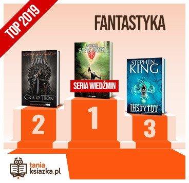 Książkowe bestsellery 2019 roku - fantastyka