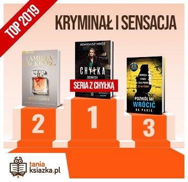 Książkowe bestsellery 2019 roku - kryminał