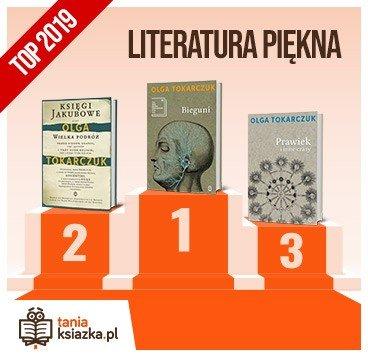 Książkowe bestsellery 2019 roku - literatura piękna