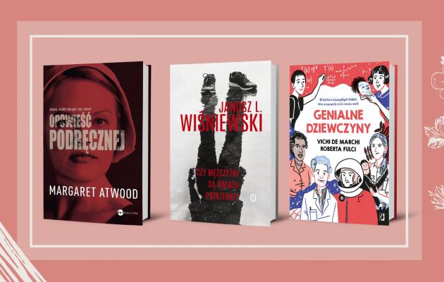 Książkowe prezenty na Dzień Kobiet