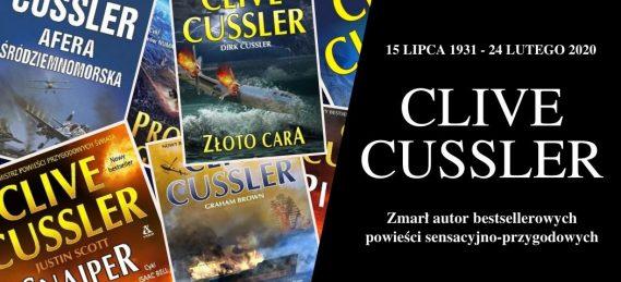 Zmarł Clive Cussler. Autor bestsellerów miał 89 lat