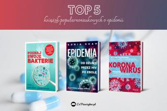 Książki popularnonaukowe o epidemii