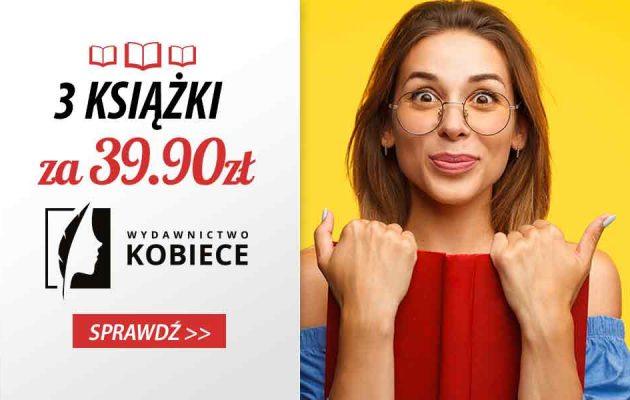 3 książki za 39,90 zł w TaniaKsiazka.pl