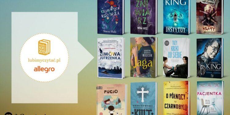 Plebiscyt Książka Roku 2019 lubimyczytac.pl - poznaj wyniki!