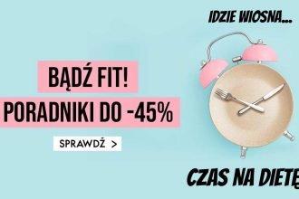 Fit-poradniki do -45% w TaniaKsiazka.pl