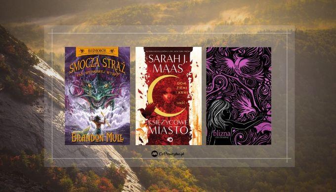 Majowe zapowiedzi fantasy – książki znajdziesz na TaniaKsiazka.pl