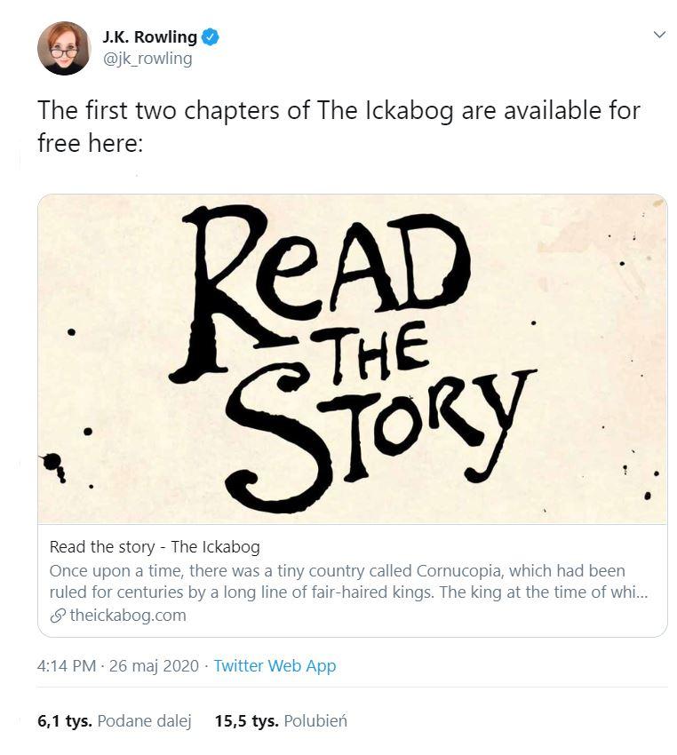 Nowa książka Rowling