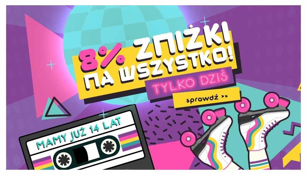 Urodziny TaniaKsiazka.pl – skorzystaj z zakręconej obniżki!