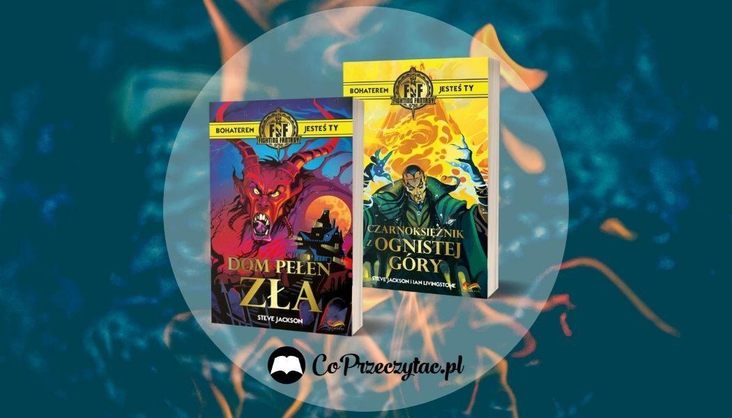 Fighting Fantasy - nowe książki paragrafowe
