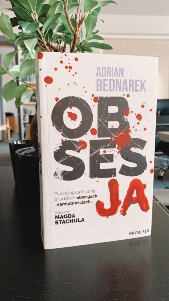 Książka Obsesja dostępna jest na TaniaKsiazka.pl