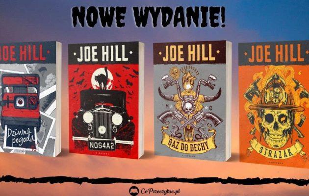 Nowe wydania książek Hilla - sprawdź na TaniaKsiazka.pl