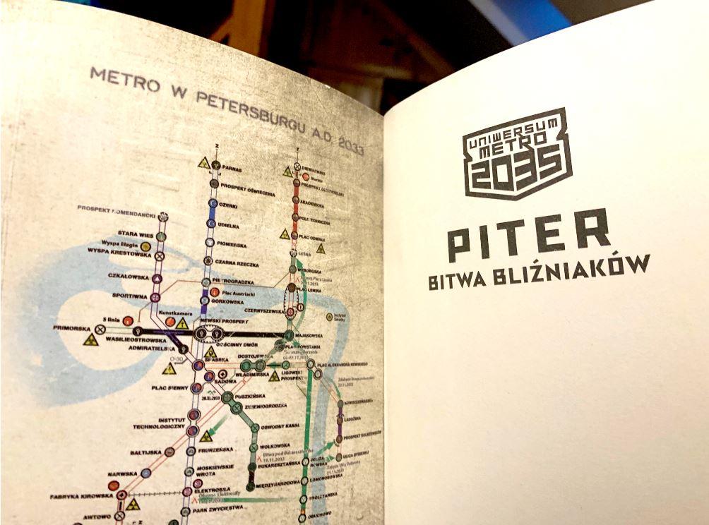 Piter Bitwa bliźniaków – książka dostępna na TaniaKsiazka.pl
