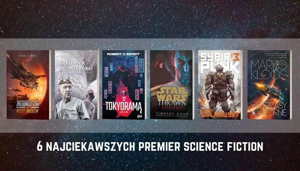 6 najciekawszych premier science fiction w październiku
