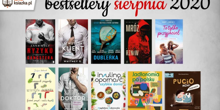 Bestsellery sierpnia w TaniaKsiazka.pl