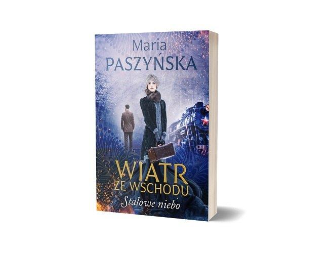 Stalowe niebo, nowa książka Marii Paszyńskiej - sprawdź w TaniaKsiazka.pl