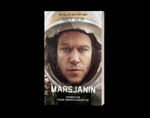 Marsjanin - okładka książki
