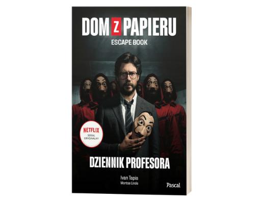 Ivan Tapia Montse Linde Dom z papieru. Escape book